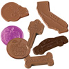 Custom Chocolate Cut-Out Shapes
