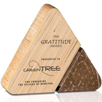 Eco-Gratitude Award - Renewable Bamboo