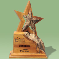 Eco-Star Award - Re-claimed Wood