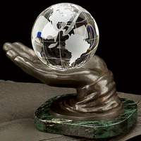 Bronze World in Hand Award