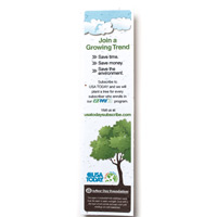 Fully-Plantable Seed Paper Bookmark