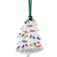 Seed Paper Holiday Ornaments - Fully-Plantable Seed Paper