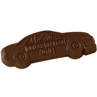 Chocolate Race Car Cut-Out - 1 oz