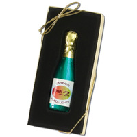 Chocolate Champagne Bottle Award