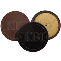 Custom Molded Round Chocolate Covered Cookie
