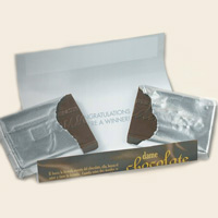 1.75 oz Chocolate Bar w/ Custom Printed Wrapper