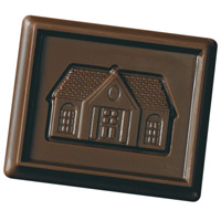 Custom Molded Chocolate Covered Cookie
