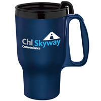 Budget Travel Mug - 16 oz. in 8 Colors
