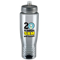 Poly-Clean 28 oz Water Bottle in 9 Colors