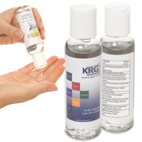 Hand Sanitizer w/ Custom Branded Label - 2 oz.