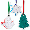 Two-Part Seed Paper Holiday Ornaments