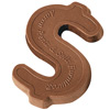 Chocolate Dollar Sign - 1 oz