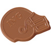 Chocolate Football Helmet- 1 oz