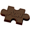 Chocolate Puzzle Piece - 1 oz
