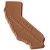 Chocolate State Cut-Out - 1 oz