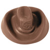 Chocolate Cowboy Hat - 1 oz