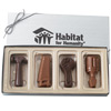Chocolate 3-D Tools Set Gift Box - 4 oz