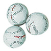 Chocolate Foil Wrapped Baseballs