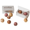 Custom Gift Box of 2 Chocolate Filled Truffles