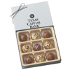 Custom Truffle Gift Box of 9 Chocolate Filled Truffles