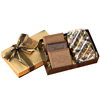 Molded Chocolate Cookie & Confection Custom Gift Box w/ 3 Cookies