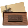 Custom 8 oz Two-Toned Chocolate Presentation Bar