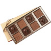 8-Piece - 5 oz - Custom Molded Chocolate Squares Gift Box