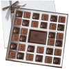 Custom 64-Piece - 3 lb Chocolate Squares Gift Box