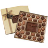 Custom Chocolate Gift Box w/ Truffles - 1 lb