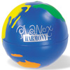 Stress Relief Multi-Color Globe Ball