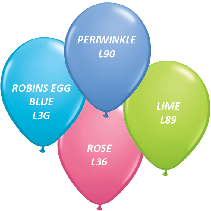 100 Personalized Custom Printed Balloons LOG,ANY TEXT ALL Colours Helium Quality